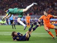 Икер Касильяс - вратарь сборной Испании