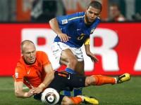 Голландия - Бразилия. 1/4 ЧМ-2010 по футболу в ЮАР.