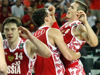 Баскетбол. Сборная России 2010.