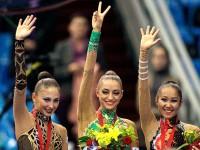 Дарья Кондакова, Евгения Канаева и Алия Гараева