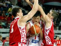 Россия - Китай. Чемпионат мира по баскетболу 2010.