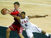 Россия - США. Чемпионат мира по баскетболу 2010.