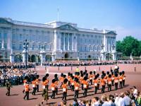 Лондон. Букингемский дворец.