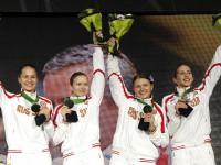 Женская сборная России по фехтованию на саблях. Чемпионат мира 2010 года.
