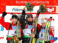 Иван Черезов. 3 место, 2 этап, Кубок мира по биатлону 2010-2011.
