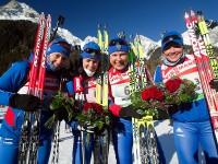 Женская сборная России по биатлону 2011