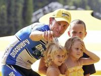 Лэнс Армстронг со своими детьми