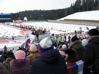 Чемпионат мира по биатлону в Ханты-Мансийске
