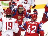 Чемпионат мира по хоккею 2011. Россия - Дания 4:3.