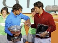Рафаэль Надаль и Рождер Федерер в финале Ролан Гаррос 2011