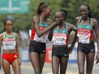 Чемпионат мира по легкой атлетике 2011. Марафон. Женщины.