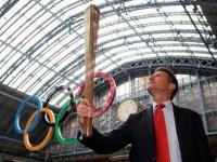 Олимпийский факел. Лондон-2012.