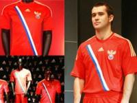 Новая форма сборной России по футболу к Евро-2012