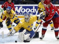 Россия - Швеция. Хоккей