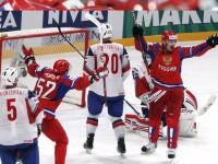 Россия - Норвегия 5:2. 1/4 финала чемпионата мира по хоккею 2012 года.