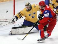 Россия - Швеция 7:3. Чемпионат мира по хоккею 2012 года.