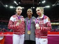 Комова и Мустафина - призеры Олимпийских игр в Лондоне