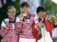 Елена Лашманова - олимпийская чемпионка 2012 года в ходьбе на 20 км с мировым рекордом!
