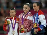 Алия Мустафина - олимпийский чемпион 2012 года
