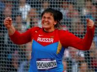 Метательница диска Дарья Пищальникова выиграла серебро на Олимпийских играх в Лондоне
