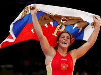 Наталья Воробьева - олимпийская чемпионка 2012 года по вольной борьбе в весовой категории до 72 кг
