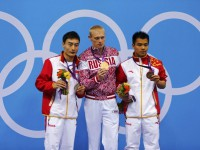 Илья Захаров - олимпийский чемпион по прыжкам в воду с трехметрового трамплина