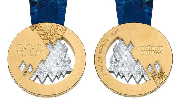 Олимпийские медали 2014