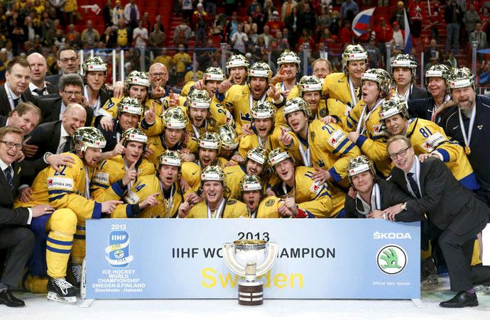 Сборная Швеции выиграла чемпионат мира по хоккею 2013 года