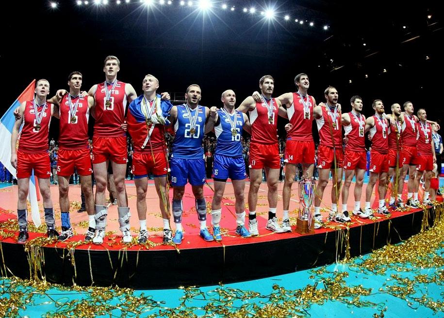 Сборная России выиграла чемпионат Европы по волейболу 2013 года!