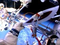 Олимпийский факел в космосе