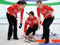 Состав сборной России по керлингу на Олимпийских играх в Сочи