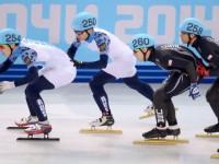 Мужская сборная России по шорт-треку выиграла эстафету