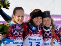Сноубордистка Юлия Дуймовиц выиграла золото в параллельном слаломе