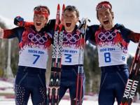 Российские лыжники выиграли все медали в лыжном марафоне в Сочи