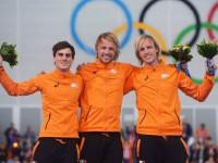 Голландцы заняли весь олимпийский пьедестал почета на дистанции 500 метров