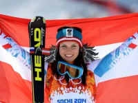 Анна Феннингер выиграла золото в супергиганте