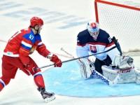 Сборная России по хоккею обыграла словаков в серии буллитов