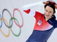 Мартина Сабликова - олимпийская чемпионка 2014 года на дистанции 5000 метров