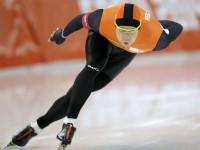 На дистанции 1000 метров победил голландский конькобежец Штефан Гротхус