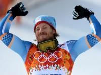 Норвежский горнолыжник Кьетиль Янсруд - олимпийский чемпион в супергиганте