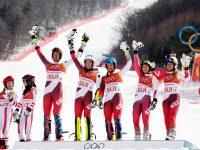Швейцарские горнолыжники победили в командных соревнованиях