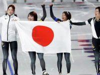 Японские конькобежки