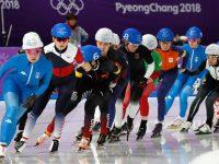 Конькобежцы разыграли медали в масс-старте