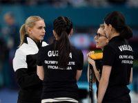 Российские кёрлингистки на Олимпийских играх 2018 года