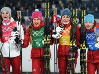 Россиянки завоевали бронзу в лыжной эстафете
