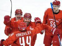 Российские хоккеисты разгромили словенцев 8:2