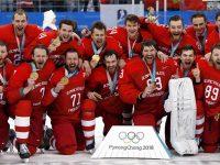 Российские хоккеисты - олимпийские чемпионы 2018 года!!!