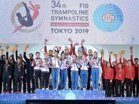 Сборная России выиграла ЧМ-2019 по прыжкам на батуте