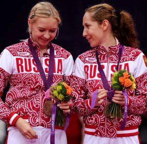 Нина Вислова и Валерия Сорокина