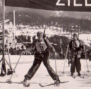 Соревнования лыжных патрулей